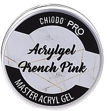 Fragrances, Perfumes, Cosmetics Nail Acryl Gel - Chiodo Pro Acryl Gel French Pink Gel