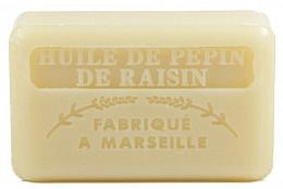 Fragrances, Perfumes, Cosmetics Marseille Soap with Grape Seed Oil - Foufour Savonnette Marseillaise Huile de Pepin de Raisin