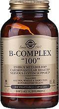 """Fragrances, Perfumes, Cosmetics Vitamins """"B-Complex 100"""" - Solgar B-Complex"""