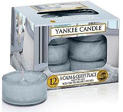 Fragrances, Perfumes, Cosmetics Tea Light Candles - Yankee Candle Scented Tea Light Candles A Calm & Quiet Place
