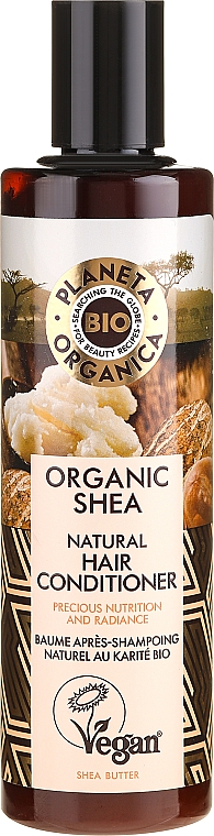 Nourishing Hair Conditioner - Planeta Organica Organic Shea Natural Hair Conditioner