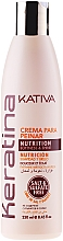 Fragrances, Perfumes, Cosmetics Strengthening Styling Keratin Cream for All Hair Types - Kativa Keratina Styling Cream
