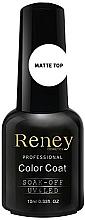Fragrances, Perfumes, Cosmetics Matte Gel Polish Top Coat - Reney Cosmetics Top Matte Velvet No Wipe