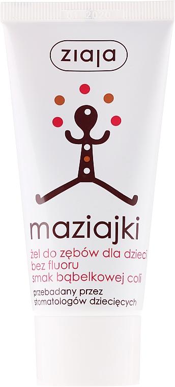 """Fluoride-free KIds Toothpaste """"Cola"""" - Ziaja"""