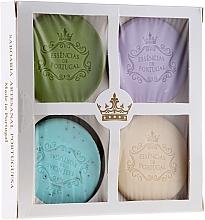 Fragrances, Perfumes, Cosmetics Set - Essencias De Portugal Senses Natural (soap/4x50g)