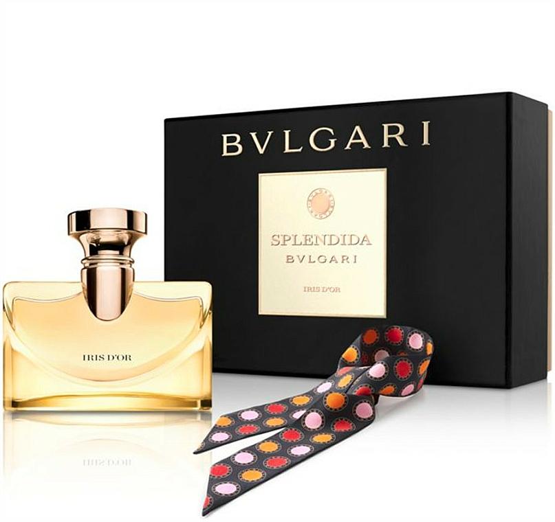 Bvlgari Splendida Iris D`Or - Set (edp/100ml + scarves)