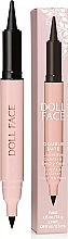 Fragrances, Perfumes, Cosmetics Kohl Eye Pencil - Doll Face Double Date Liquid Eye Definer & Smokey Kajal