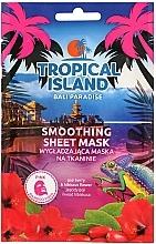 Fragrances, Perfumes, Cosmetics Face Sheet Mask - Marion Tropical Island Bali Paradise Smoothing Sheet Mask