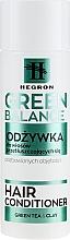 Fragrances, Perfumes, Cosmetics Oily Hair Conditioner - Hegron Green Balance Hair Conditioner