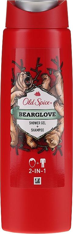 Shampoo-Shower Gel 2in1 - Old Spice Bearglove Shower Gel + Shampoo 2-in-1