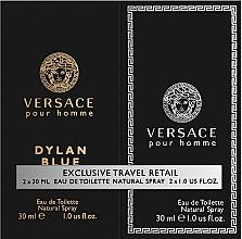 Fragrances, Perfumes, Cosmetics Versace Dylan Blue Pour Homme - Set (edt/30ml + edt/30ml)