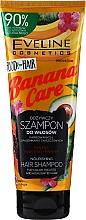 Fragrances, Perfumes, Cosmetics Colored & Damaged Hair Shampoo - Eveline Cosmetics Food For Hair Banana Care Shampoo