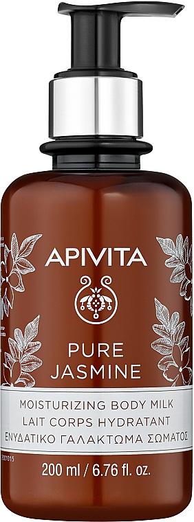 "Moisturizing Body Milk ""Natural Jasmine"" - Apivita Pure Jasmine Moisturizing Body Milk"