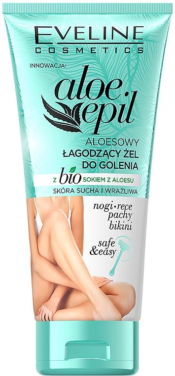 Soothing Shaving Gel - Eveline Cosmetics Aloe Epil