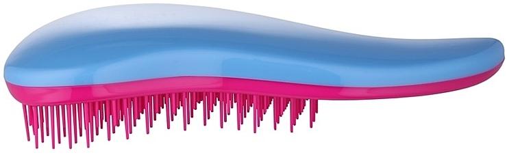Hair Brush, blue-pink - Detangler Detangling Blue-Pink Brush — photo N2