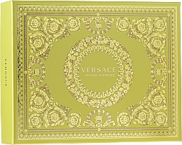 Fragrances, Perfumes, Cosmetics Versace Yellow Diamond - Set (edt/50ml + b/lot/50ml + sh/gel/50ml)