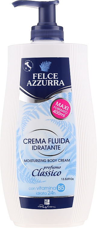 Classic Moisturizing Body Cream - Felce Azzurra Classic Moisturizing Cream