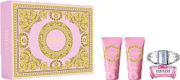 Fragrances, Perfumes, Cosmetics Versace Bright Crystal - Set (edt/50ml + b/l/50ml + sh/gel/50ml)