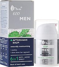 Fragrances, Perfumes, Cosmetics Moisturizing After Shave Balm 6in1 - Ava Laboratorium Eco Men Lotion
