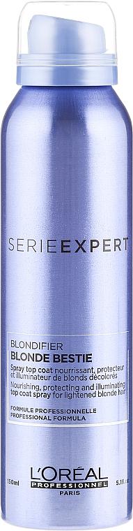 Nourishment, Protection & Shine Hair Spray - L'Oreal Professionnel Serie Expert Blondifier Blonde Bestie