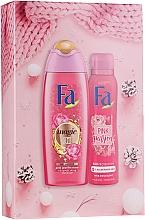 Fragrances, Perfumes, Cosmetics Set - Fa Pink Passion (sh/gel/250ml + deo/spray/150ml)