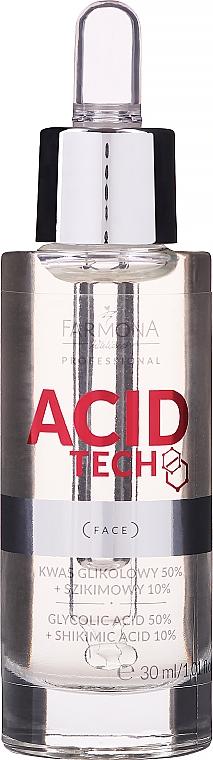 Glycolic Acid 50% and Shikimic Acid 10% for Peeling - Farmona Professional Acid Tech Glycolic Acid 50% + Shikimic Acid 10%