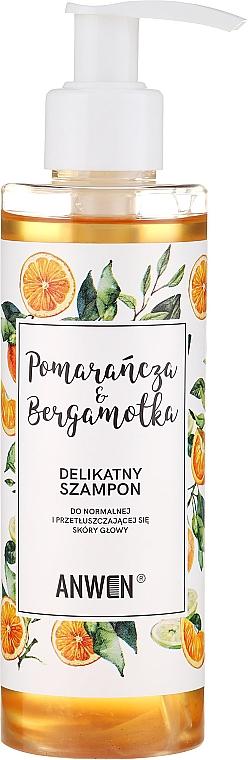 Orange & Bergamot Shampoo for Normal & Oily Scalp - Anwen Orange and Bergamot Shampoo