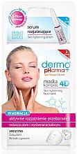 Fragrances, Perfumes, Cosmetics Face Mask-Serum - Dermo Pharma Skin Lightening