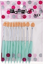 Fragrances, Perfumes, Cosmetics Eyeshadow Applicator Set, turquoise - Fashion Cosmetic