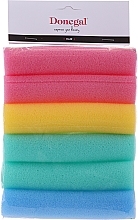 Fragrances, Perfumes, Cosmetics Sponge Rollers, Wide, 9253 multicolored, 6 pcs - Donegal Sponge Rollers