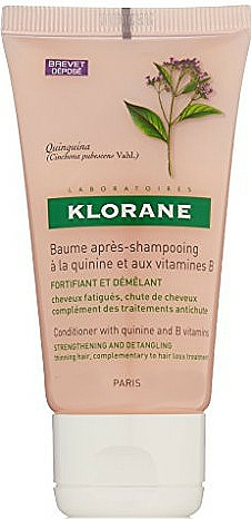 Conditioner with Quinine & Vitamin - Klorane Conditioner with Quinine & Vitamin B — photo N1