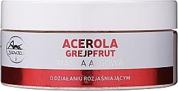 Fragrances, Perfumes, Cosmetics Acerola & Grapefruit Brightening Face Mask - Jadwiga Acerola And Grapefruit Face Mask