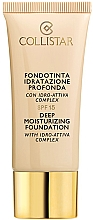 Fragrances, Perfumes, Cosmetics Moisturizing Foundation - Collistar Deep Moisturizing Foundation SPF15