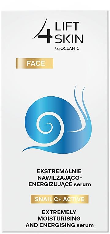 Intensively Moisturizing & Smoothing Serum - Lift4Skin Snail C+ Serum