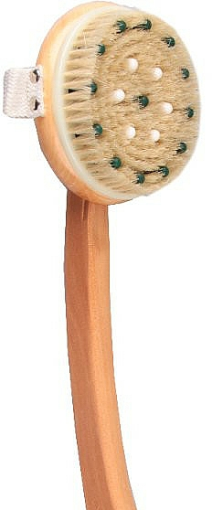 Massage Body Brush 1901, with wooden handle - Top Choice Wooden Brush Massager