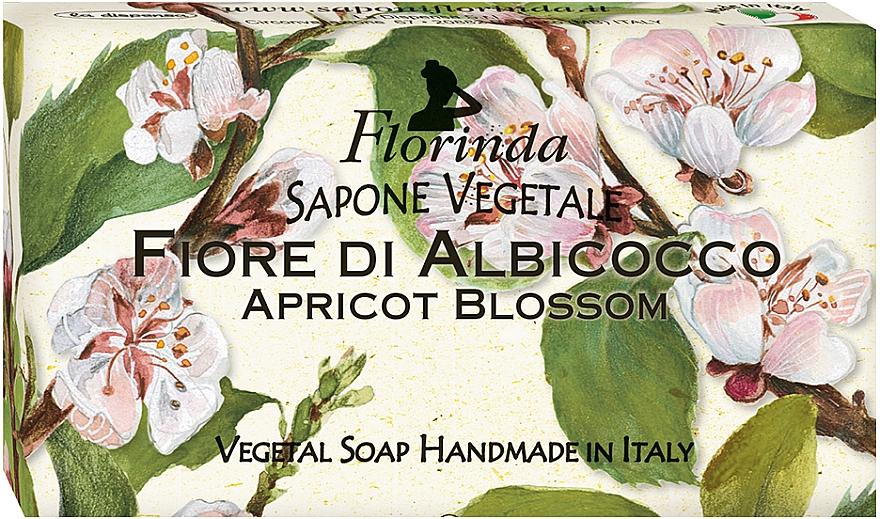 Natural Apricot Blossom Soap - Florinda Sapone Apricot Blossom Vegetal Soap Bar — photo N1