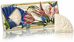 """Fragrances, Perfumes, Cosmetics Natural Soap Set """"Flower Bouquet"""" - Saponificio Artigianale Fiorentino Floral Bouquet Soap (3xsoap/100g)"""