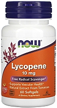 "Fragrances, Perfumes, Cosmetics Dietary Supplement ""Lycopene"", 10mg - Now Foods Lycopene Softgels"