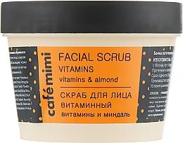 "Fragrances, Perfumes, Cosmetics Face Scrub ""Vitamin"" - Cafe Mimi Facial Scrub Vitamins"