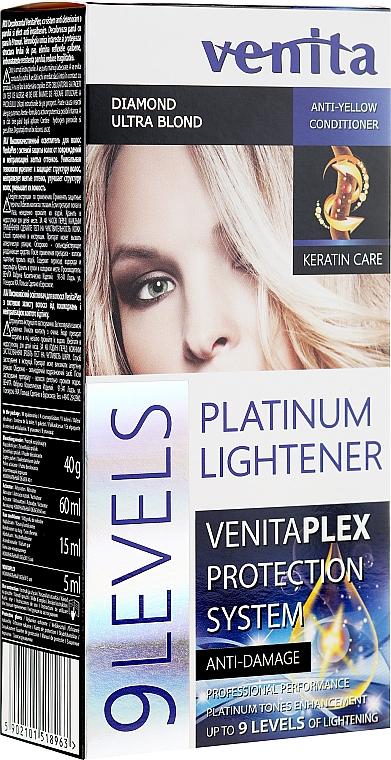 Lightener up to 9 Tones - Venita Plex Platinum Lightener