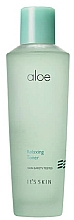 Fragrances, Perfumes, Cosmetics Soothing Face Toner with Aloe Juice Extract - It's Skin Aloe Relaxing Toner