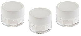 Fragrances, Perfumes, Cosmetics Cosmetic Jar Set, 3 pcs - Sefiros Cosmetic Jar