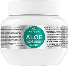 """Fragrances, Perfumes, Cosmetics Hydrating & Repair Dry & Damaged Hair Mask """"Aloe"""" - Kallos Cosmetics Moisture Repair Aloe Hair Mask"""