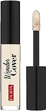 Fragrances, Perfumes, Cosmetics Face Concealer - Pupa Wonder Cover