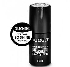 Fragrances, Perfumes, Cosmetics Hybrid No Wipe Nail Top Coat - Duogel Top Coat So Shine No Wipe