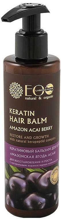 Repair & Growth Keratin Balm - ECO Laboratorie Keratin Hair Balm Amazon Acai Berry