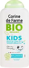"Fragrances, Perfumes, Cosmetics Shampoo-Shower Gel ""Pansies and Cherries"" - Corine de Farme Bio Organic Shower Gel"