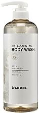 Fragrances, Perfumes, Cosmetics Milk Shower Gel - Mizon My Relaxing Time Body Wash