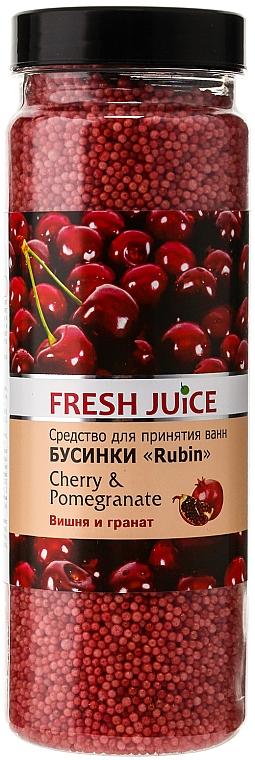 Bath Beads - Fresh Juice Bath Bijou Rubin Cherry and Pomergranate