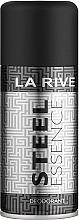 Fragrances, Perfumes, Cosmetics La Rive Steel Essence - Deodorant Spray